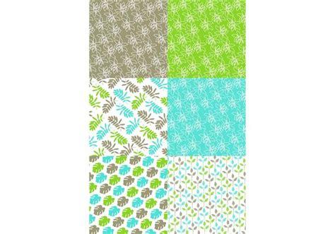 nature pattern match green nature pattern set download free vector art stock