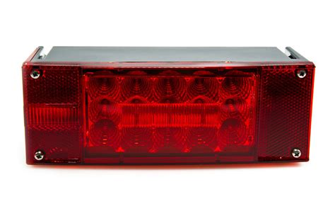 trailer brake light kit rectangular 8 led truck and trailer lights kit 8 brake