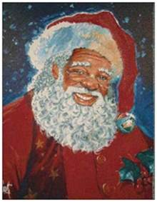 20 american santa greeting flat cards envelopes seals ebay