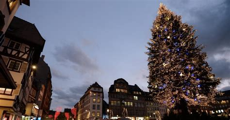 christmas trees around the world slideshow strasbourg photos decorations around the world ny daily news