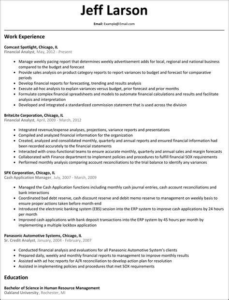 Financial Analyst Resume   ResumeSamples.net