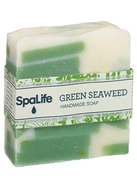 Seaweed Detox Soap by Green Seaweed Soap Boutique Catalog