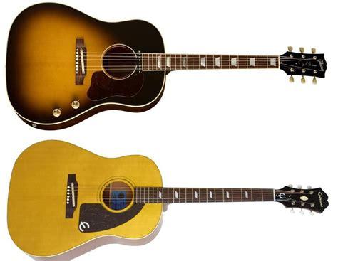 Battle of The Beatles! Lennon or McCartney? Gibson 70th ... J 160e Epiphone