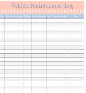 Vehicle Maintenance Planner Template Vehicle Maintenance Log Template Sweet Tea Proper