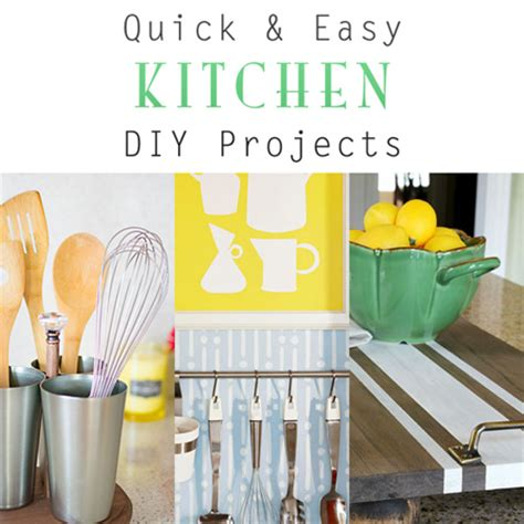 Diy Projects For The Kitchen by And Easy Kitchen Diy Projects The Cottage Market
