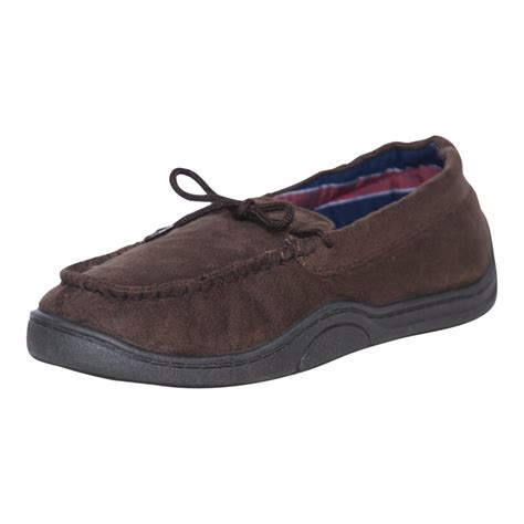 mens luxury slippers response mens luxury cosy faux suede moccasin slippers