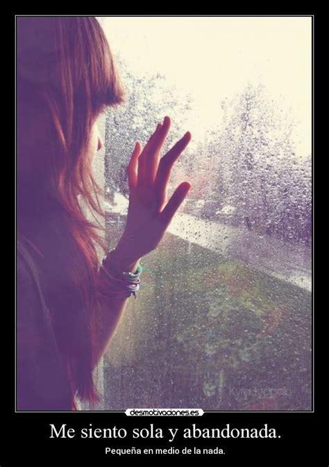 imagenes tristes me siento sola me siento sola y abandonada desmotivaciones