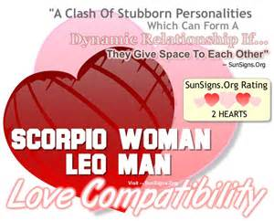 Scorpio woman and leo man a dynamic but stubborn match sun signs