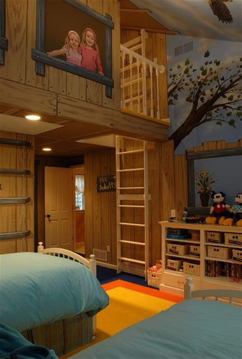 treehouse bedroom tree house bedroom eclectic minneapolis by gabberts design studio