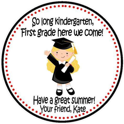 printable graduation stickers 2015 items similar to kindergarten graduation tags girls