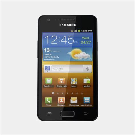 samsung galaxy r mobile phone 3d model