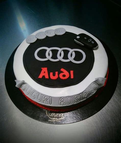 Auto Kuchen Backen by Torta Decorata Cake Design Audi Cake Black Cars
