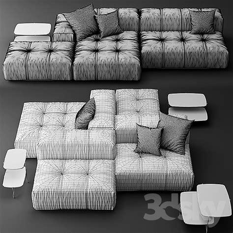 3d models: Sofa   Sofa Saba Italia pixel