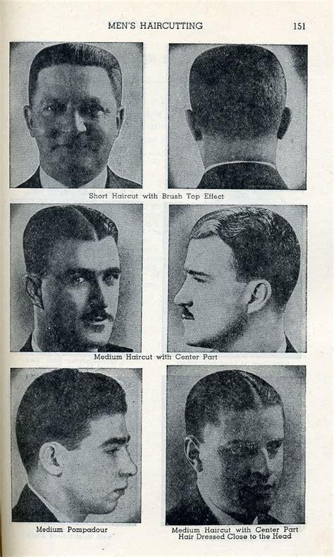 haair style in 1910 men s hairstyles 1910 turn of the century pinterest
