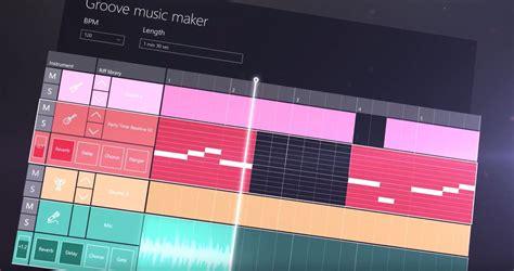 theme music creator groove music maker und movie creator in der windows 10