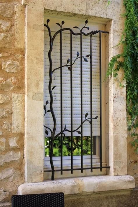 Decorative Security Bars For Windows And Doors Best 25 Window Bars Ideas On Window Security