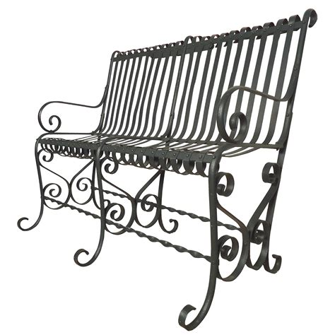 vintage park bench beautiful vintage park bench for sale at 1stdibs