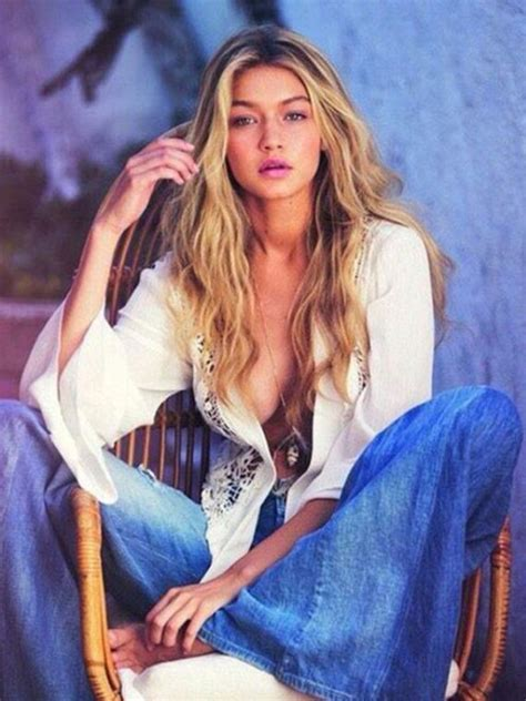 model gigi hadids guess ads are here and theyre glamgalz com gorgeous gigi hadid for guess photoshoot