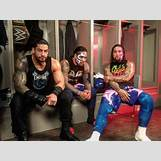Roman Reigns And The Usos Football | 780 x 585 jpeg 67kB
