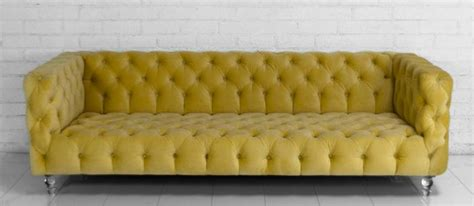 yellow velvet couch www roomservicestore com boca sofa in volt yellow velvet