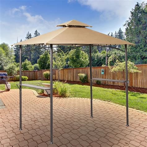 replacement canopy  grill gazebo riplock  garden winds