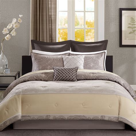 cannon 8 jacquard vaughn comforter set home bed