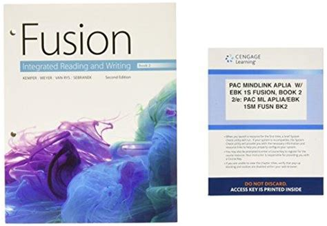 fusion integrated reading and writing book 1 books isbn 9781305792463 bundle fusion integrated reading