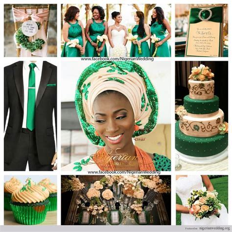 17 Best images about Nigerian Wedding Color Schemes