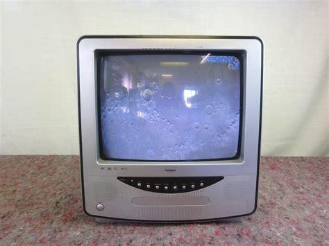 Tv 14 Inchi 14 inch goodmans tv dvd player revolver av