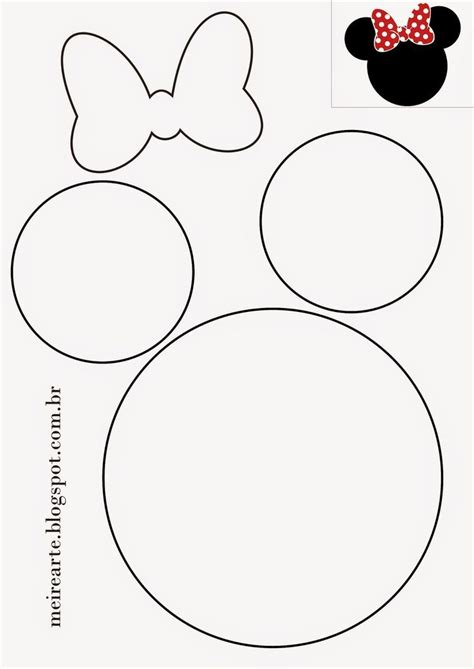 best 25 minnie mouse template ideas on pinterest mickey