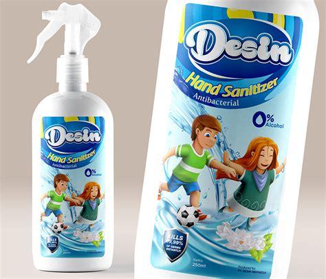 design  kontes desain label desin hand sanitizer sr