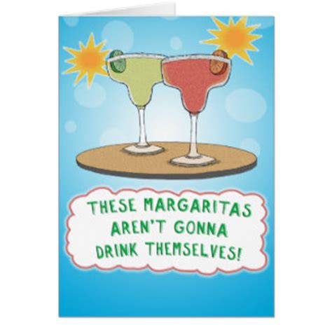 margarita birthday margarita birthday cards zazzle