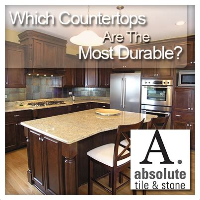 What Is The Most Durable Kitchen Countertop by Slab Granite Countertops What Is The Most Durable Kitchen