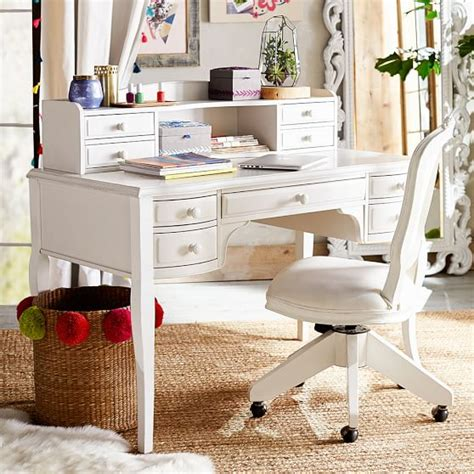 teenage desks lilac desk hutch pbteen