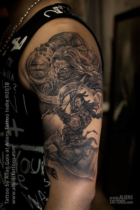 tribal zeus tattoos zeus and sagittarius aliens the best