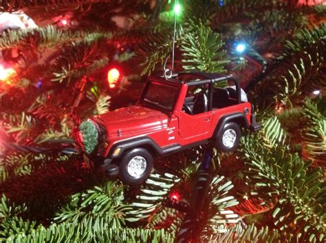 jeep christmas decorations jeep holiday ornament beep beep goes my jeep pinterest