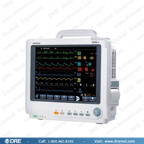 Monitor Mindray equipment mindray dpm6 patient monitor