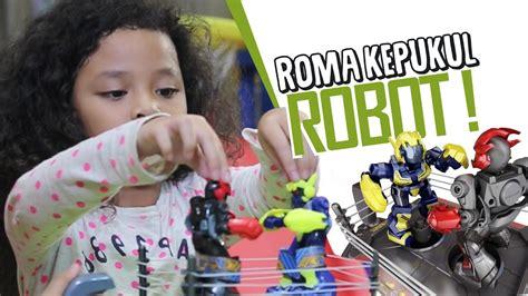 Mainan Robot Robotan roma coba mainan cowok robot robotan