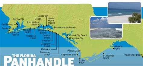 florida panhandle map of beaches panhandle vacation rental map find rentals