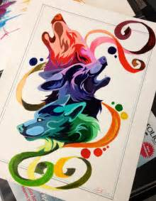 color wheel drawings wolf color wheel by lucky978 on deviantart