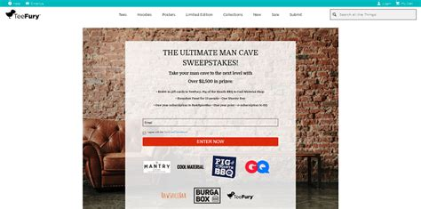 Man Cave Giveaway - sweepstakeslovers daily carnival allstate ocean spray more