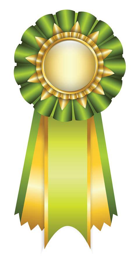 green medal ribbon clip art ribbon png floral border