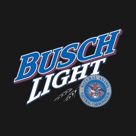 of busch light buschlight busch light logo t shirt