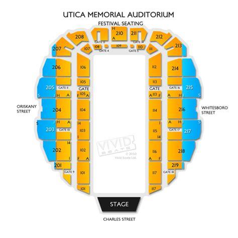 utica aud seating utica memorial auditorium seating chart seats