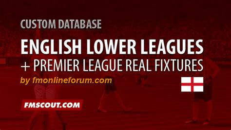 Fa Vase Results 2014 English Lower Leagues And Premier League Fixtures For Fm15