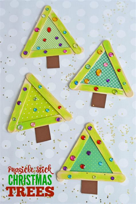 craft stick christmas projects