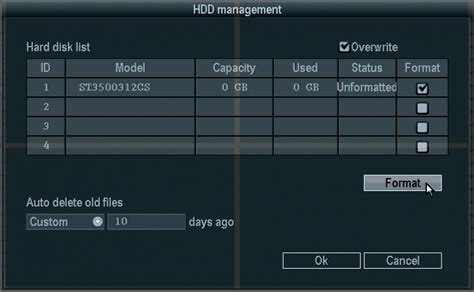 format hard drive for zmodo dvr zmodo knowledge base how or why do i format the hard