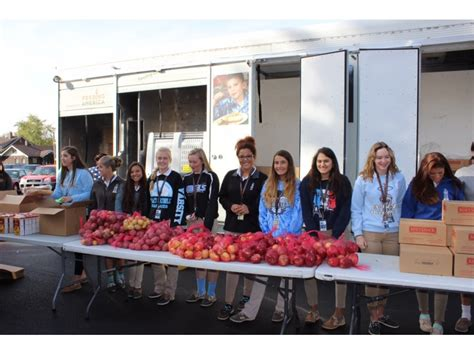 Joliet Food Pantry by Jca Students Volunteer At St S Food Pantry