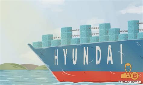 hyundai merchant marine and samsung sds announce success