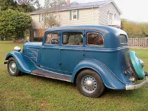 1934 Dodge Sedan 1934 Dodge 4 Door Sedan Flatback All Original Used